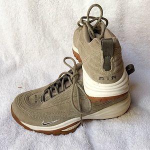 Nike Air Beige Suede Sneakers Runners